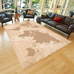Vintage Rug, Area Rug,Non Slip Floor Carpet,Teen's Carpet ,Room Decor