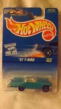 1997 Hotwheels '57 T-Bird Card # 612