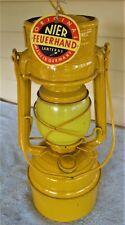 Feuerhand Sturmkappe Lamp Baby Special 276 Hurricane Hazard Lantern, Amber Globe