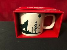 Tim Hortons 2019 LE Collectible Holiday Mug WOLF Coffee Tea New in Box