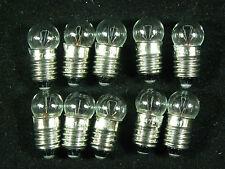 Lionel Trains Light Bulbs # 1447 Screw Base 18 Volt - Clear