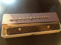 Louis Vuitton 18k yellow gold Monogram bracelet. $4950.00 Authentic!!!