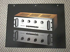 Audio Research SP-6A pre-amplifier brochure