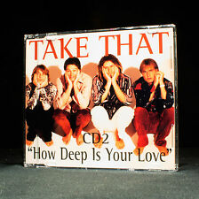 Take That - How Deep Is Your Love - CD2 - music cd EP