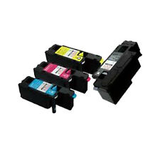 Set of 4 Compatible Toner Cartridge For DELL C1660 C1660W C1660CN C1660CNW