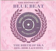 THE HISTORY OF BLUE BEAT THE BIRTH OF SKA - BB76 - BB100 A & B SIDES - 3 CD SET