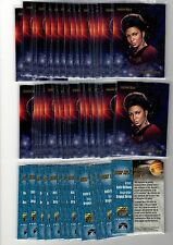 1X 1993 STAR TREK Skybox Master Series PROMO Lt. Uhura SAMPLE Bulk Lot available