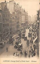 BR78565 london savoy hotel and hotel cecil strand double decker bus   uk