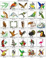 2800 BIRDS, BIRDHOUSES & EXTRAS BROTHER EMBROIDERY MACHINE DESIGN COLLECTION PES