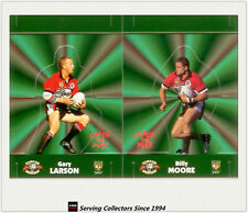 1997 Dynamic Rugby League POP-UP CARDS Team Sets-NORTHS BEARS(2)