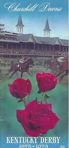 1973 - 99th Kentucky Derby program in Excellent Condition - SECRETARIAT