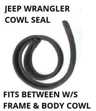 1987-1995 Jeep Wrangler YJ Windshield Cowl Rubber Seal Gasket (Top Quality)