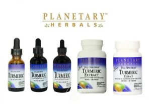 Planetary Herbals FULL SPECTRUM TURMERIC EXTRACT - all sizes - select option