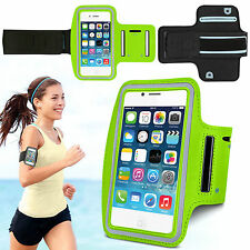 Sports Running Jogging Gym Armband Waterproof Case Cover for iPhone 4, 4s Green