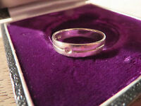 Toller 925 Sterling Silber Modern Designn Rille Funktionalismus ohne Stein