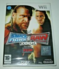 WWE SmackDown vs. Raw 2009 Wii (PAL España precintado)