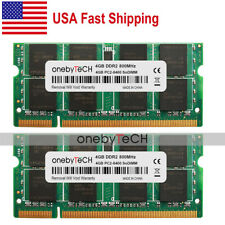 New 8GB KIT 2x4GB DDR2-800MHz  PC2-6400 200pin SoDimm Laptop Memory From USA