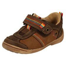 Chaussures marron avec attache auto-agrippant pour garçon de 2 à 16 ans pointure 26