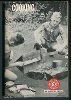 BSA Boy Scouts of America Merit Badge Series, COOKING, ©1967, 1972 Printing