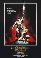 Poster Locandina - Conan the Barbarian (1982) - Vintage - Formato A3 42x30 cm