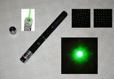 Stylo Pointeur laser vert très puissant 1mw visible à plus de 2km sans Piles