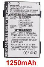 Batteria 1250mAh tipo E3MT041202 E3MT041202B12A E3MT12110211 Per Mitac Mio A201