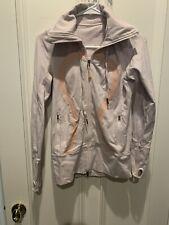 lululemon jacket w hood Pink Size 8