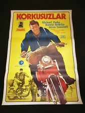 THEN CAME BRONSON ORIGINAL MOVIE POSTER 1969 MOTORCYCLE