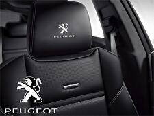 5x Peugeot Aufkleber für Ledersitze Logo Simbol 108 208 301 206 207 308 508 5008