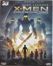 Blu-ray X-Men - Giorni di un futuro passato (3D + 2D slipcase) 2014 Usato