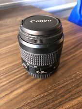 Canon Zoom Lens EF 35-80mm 1:4 - 5.6 III For Canon Camera Hardly Used *FST SHP*