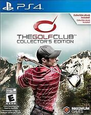 GOLF CLUB COLLECTORS EDITION PS4 SPO NEW VIDEO GAME