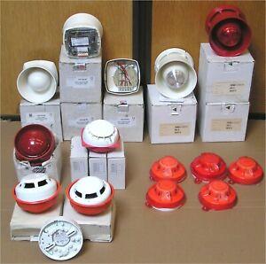 Job Lot Untested Fire Alarm Sounders Beacons Detectors. GENT / GE / APOLLO / ESP