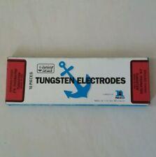ANCHOR (Sylvania) TIG Welding Electrodes 2% Thoriated Tungsten 1/8 Red USA 10-pk