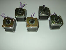 5 X Nema 17 Stepper Motor Sanyo Denki Cnc Router Mill Robot Reprap 3d Print 841