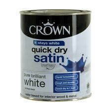 Crown Breatheasy Quick Dry Satin 750ml - Pure Brilliant White