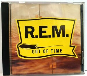 R.E.M. Out of Time Losing My Religion Compact Disc Original CD 1991 USA ~ryokan