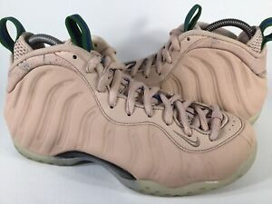 Nike Air Foamposite One Particle Beige Green Womens Size 7.5 Rare AA3963-200
