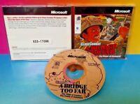 Close Combat A Bridge Too Far MicroSoft War Strategy Military WWII - PC Game