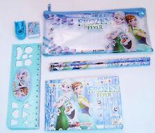 Filled Pencil Case Ruler Sharpener Kids School Stationery Set Frozen Fever