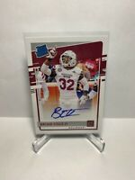 2020 Chronicles Draft Picks Red Brian Cole II Rated Rookie Auto