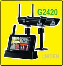 UNIDEN G2420 DIGITAL WIRELESS SURVEILLANCE SYSTEM