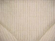 1-3/8Y Seemakrish Empire Stripe Cobblestone Hand Print Drapery Upholstery Fabric