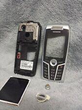 Siemens S65 Handy Gehäuse schwarz #9 C vintage phone case cover housing black