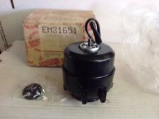 Gemline Em31651 16 Watt Condenser Fan Motor 115v 1550 Rpm. Box44