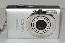 Canon PowerShot Digital ELPH SD1100 IS 8.0MP Digital Camera - Silver