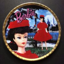 Vintage Enesco From Barbie With Love Collectible Plate - Red Flare 1962 #655090