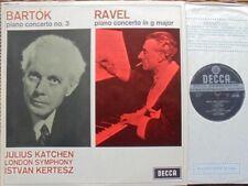 SXL 6209 WBG ED.1: KATCHEN - BARTOK + RAVEL PIANOCONC: NM