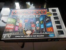 Hasbro 2014 Monopoly Empire board game, complete.