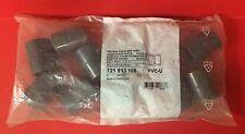 "Bag of (10) New Georg Fischer +GF+ 1"" PVC-U Adaptor Sockets # 721913108"
